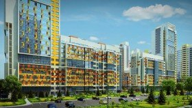 проектирование жилых зданий. ЖК Триумф парк