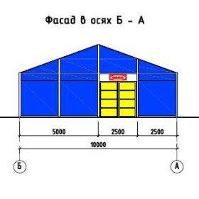 Выполненные проекты - проект модульного павильона