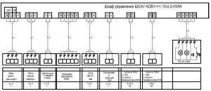 Системы отопления и вентиляции - схема соединений 2