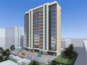 проект многоквартирного жилого здания