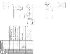 Системы отопления и вентиляции - схема 2 аов
