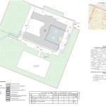 Проект производства работ по замене асфальта - строительный генплан периода устройства асфальта