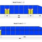Проектирование модульного павильона (временное здание) - фасады быстровозводимого павильона