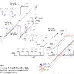 Проектирование реконструкции зоны санузлов - аксонометрическая схема водоснабжения