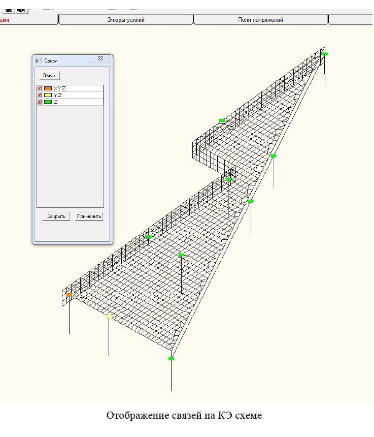 конструкций здания - схема