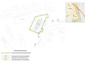 Проектирование бесконтактной автомойки - ситуационный план автомойки