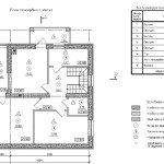 Проект коттеджа 38-92 - маркировочный план мансардного этажа