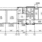 Проектирование реконструкции здания - план