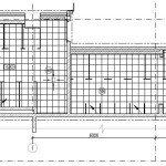 Проектирование реконструкции зоны санузлов - схема раскладки напольной плитки