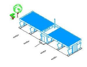 Проектирование бесконтактной автомойки - схема