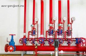 Противопожарный водопровод - система внутреннего водопровода