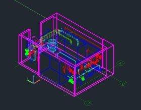 3D модель итп -2
