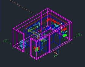 3D модель итп -3