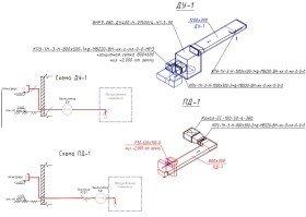 система дымоудаления - схема системы дымоудаления