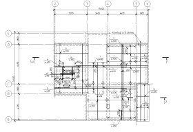 схема армирования фундаментной плиты