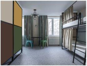 реконструкция гостиницы, комната