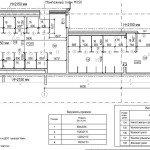 Проектирование реконструкции зоны санузлов - зона реконструкции