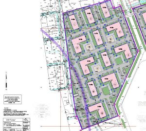 Проект многоквартирного дома - генплан