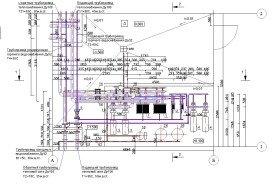 план центрального теплового пункта