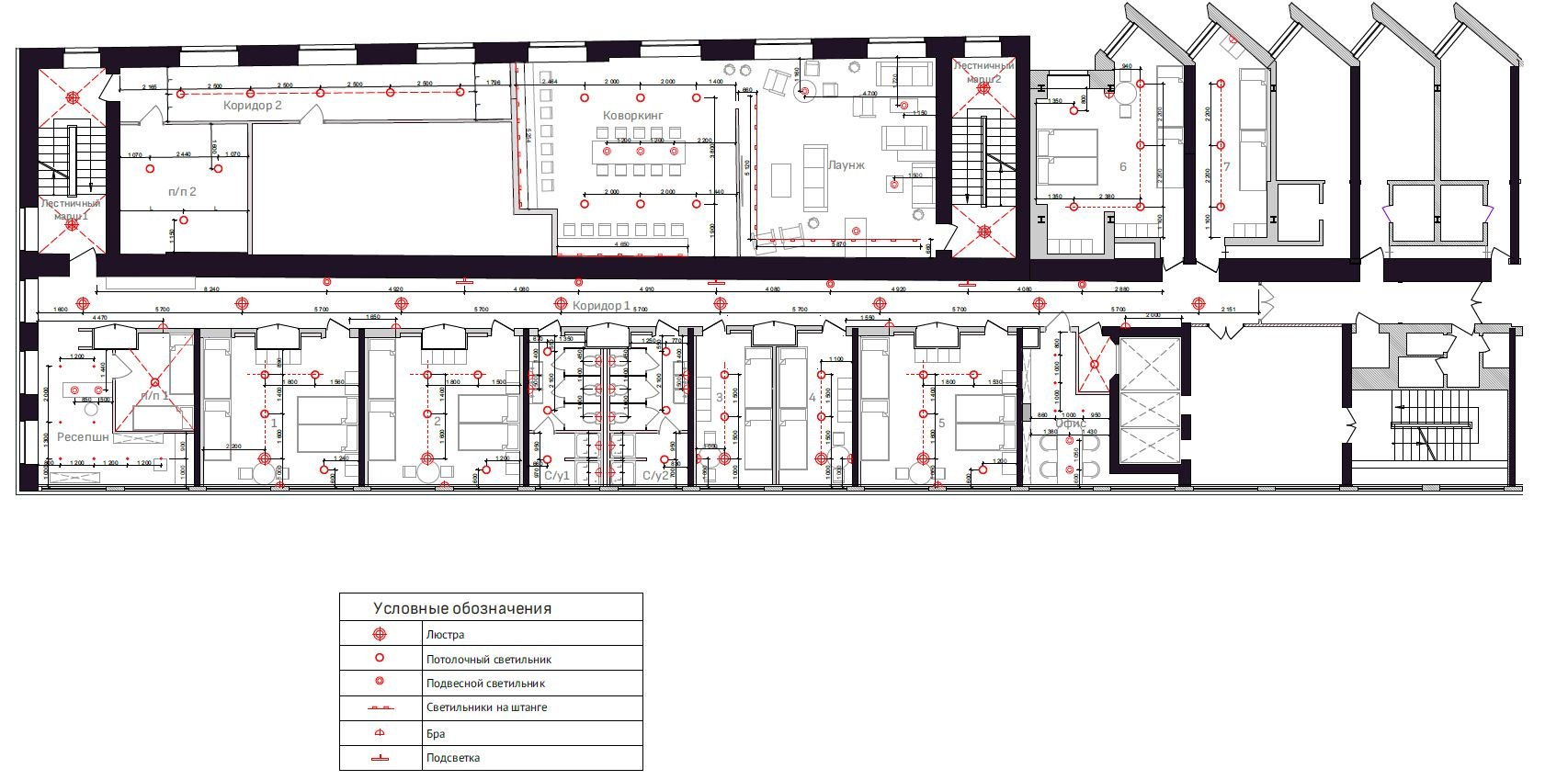 Состав проекта перепланировки нежилого помещения